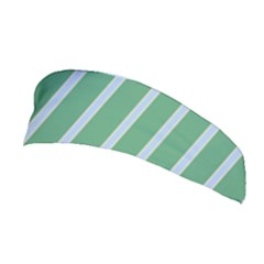 Green Line Vertical Stretchable Headband by Mariart