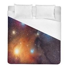 Galaxy Space Star Light Duvet Cover (full/ Double Size) by Mariart