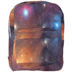 Galaxy Space Star Light Full Print Backpack by Mariart