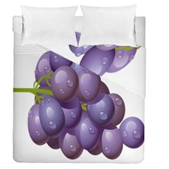 Grape Fruit Duvet Cover Double Side (queen Size) by Mariart