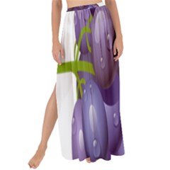 Grape Fruit Maxi Chiffon Tie Up Sarong