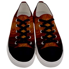 High Res Nostars Orange Gold Men s Low Top Canvas Sneakers