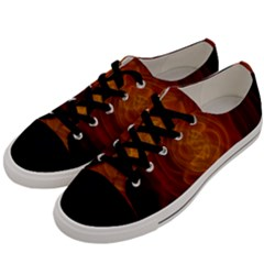 High Res Nostars Orange Gold Men s Low Top Canvas Sneakers by Mariart
