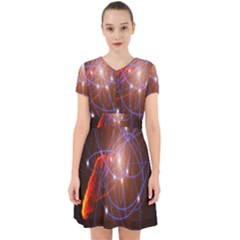 Highest Resolution Version Space Net Adorable In Chiffon Dress