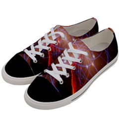 Highest Resolution Version Space Net Women s Low Top Canvas Sneakers by Mariart
