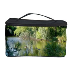 Nature And Ducks Cosmetic Storage Case by Oksana