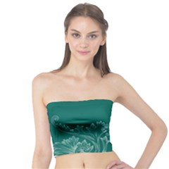 Leaf Green Blue Sexy Tube Top by Mariart