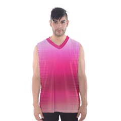 Line Pink Space Sexy Rainbow Men s Basketball Tank Top by Mariart
