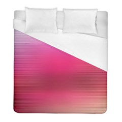 Line Pink Space Sexy Rainbow Duvet Cover (full/ Double Size) by Mariart