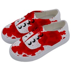 Red Blood Transparent Kids  Classic Low Top Sneakers by Mariart