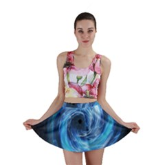 Hole Space Galaxy Star Planet Mini Skirt
