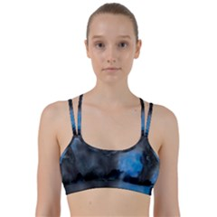 Space Star Blue Sky Line Them Up Sports Bra