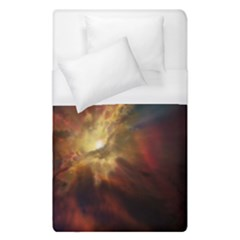 Sun Light Galaxy Duvet Cover (single Size) by Mariart