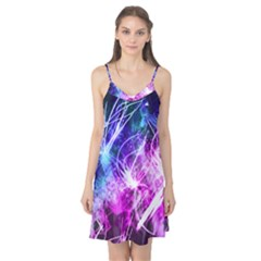 Space Galaxy Purple Blue Camis Nightgown