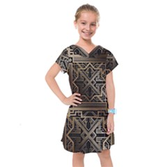 Art Nouveau Kids  Drop Waist Dress