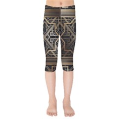 Art Nouveau Kids  Capri Leggings