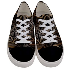 Art Nouveau Women s Low Top Canvas Sneakers