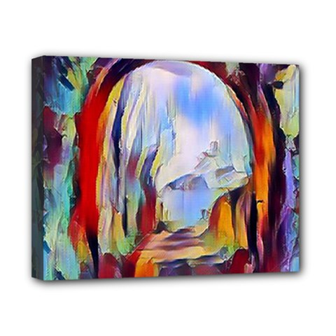 Abstract Tunnel Canvas 10  X 8