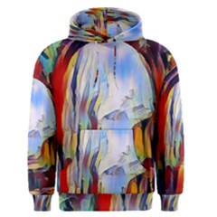 Abstract Tunnel Men s Pullover Hoodie