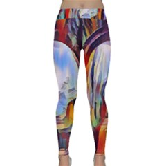 Abstract Tunnel Classic Yoga Leggings
