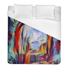Abstract Tunnel Duvet Cover (full/ Double Size) by 8fugoso