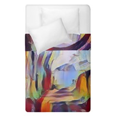 Abstract Tunnel Duvet Cover Double Side (single Size)
