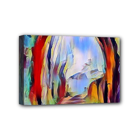 Abstract Tunnel Mini Canvas 6  X 4  by 8fugoso