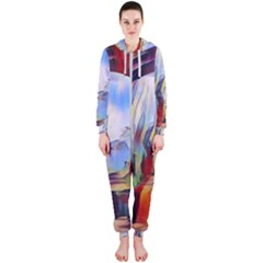 Abstract Tunnel Hooded Jumpsuit (ladies)  by 8fugoso