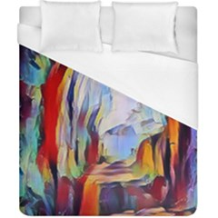 Abstract Tunnel Duvet Cover (california King Size) by 8fugoso
