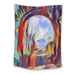 Abstract Tunnel Medium Tapestry by 8fugoso