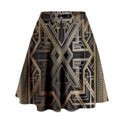 Art Nouveau High Waist Skirt by 8fugoso