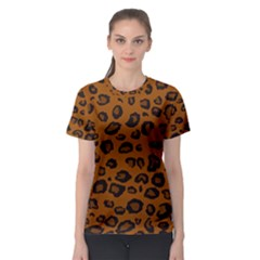 Dark Leopard Women s Sport Mesh Tee by TopitOff