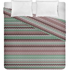 Winter Pattern 3 Duvet Cover Double Side (king Size)