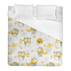Winter Pattern 6 Duvet Cover (full/ Double Size) by tarastyle