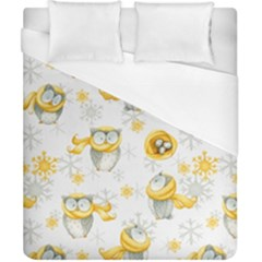 Winter Pattern 6 Duvet Cover (california King Size) by tarastyle