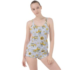 Winter Pattern 6 Boyleg Tankini Set