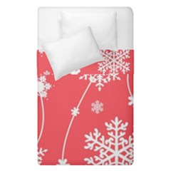 Winter Pattern 9 Duvet Cover Double Side (single Size) by tarastyle