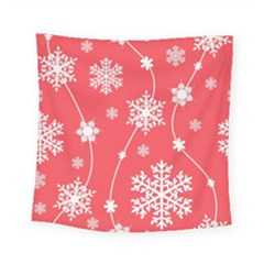 Winter Pattern 9 Square Tapestry (small) by tarastyle