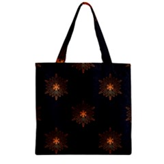 Winter Pattern 11 Zipper Grocery Tote Bag by tarastyle