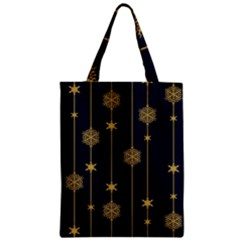 Winter Pattern 15 Zipper Classic Tote Bag by tarastyle