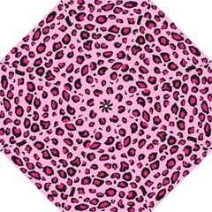 Pink Leopard Hook Handle Umbrellas (large) by TRENDYcouture