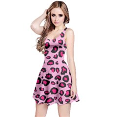 Pink Leopard Reversible Sleeveless Dress