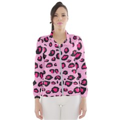 Pink Leopard Wind Breaker (women)