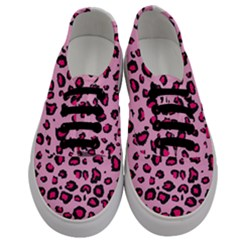 Pink Leopard Men s Classic Low Top Sneakers
