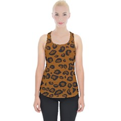 Dark Leopard Piece Up Tank Top by TRENDYcouture