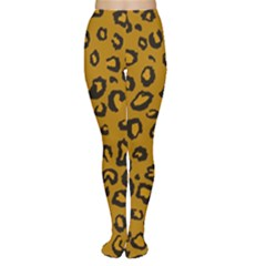 Golden Leopard Women s Tights by TRENDYcouture