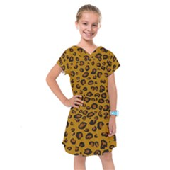 Classic Leopard Kids  Drop Waist Dress by TRENDYcouture