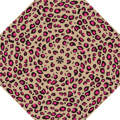 Pink Leopard 2 Folding Umbrellas by TRENDYcouture