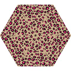 Pink Leopard 2 Mini Folding Umbrellas by TRENDYcouture
