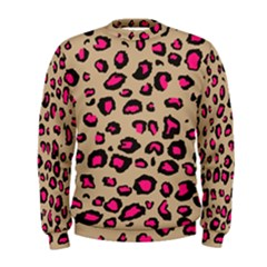 Pink Leopard 2 Men s Sweatshirt